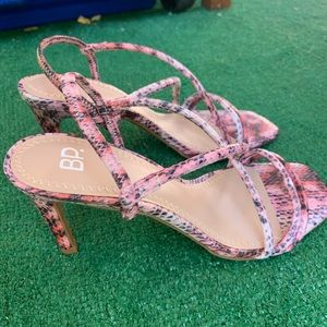 NWOT BP Strappy Sandals Pink Size 7.5